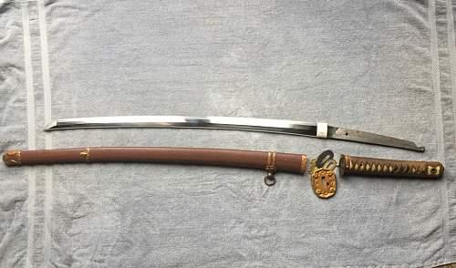 Opinions on WWII Japanese Katana, potenial purchase.