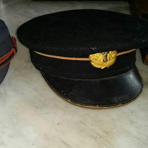 Is this a world war two japan officer cap and soldier cap too ?