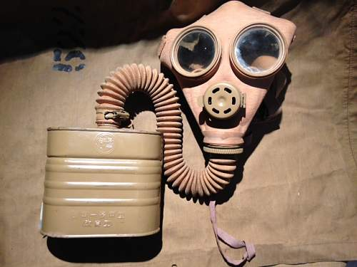 Japanese Gas masks