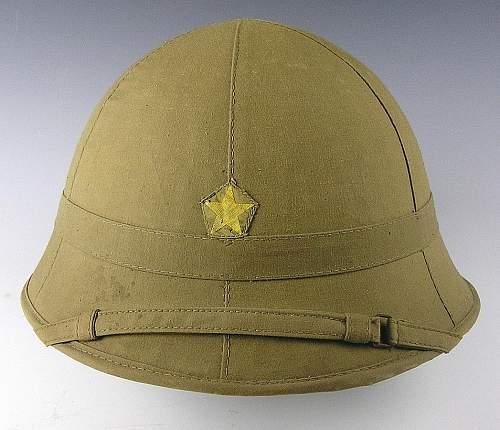 IJA Pith Helmet (Unissued)