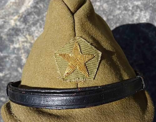 IJA Officers cap