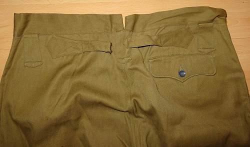 IJA Colonels Trousers