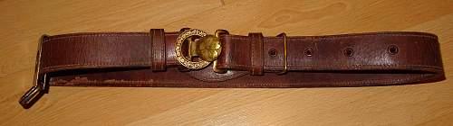 IJA Cavalry belt