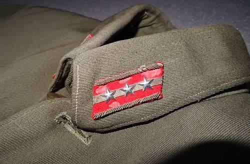 IJA Captains jacket