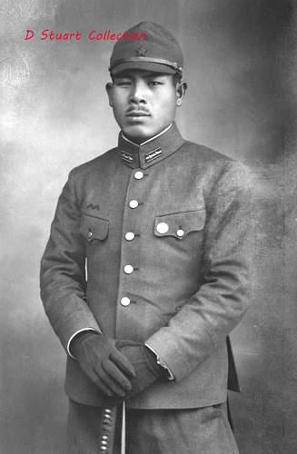 Japanese Lance Corporal uniform