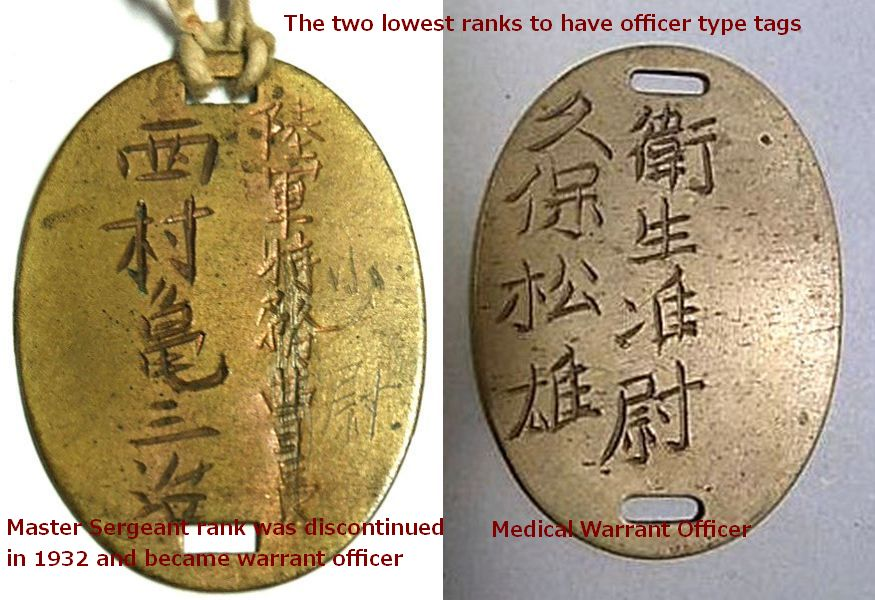 Tag Japan: The Evolution Of Japanese Army Dog Tags (1894-1945