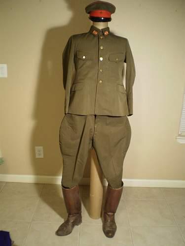WW2 Japanese Uniform real or fake