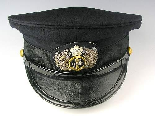 IJN Visor Cap with Case