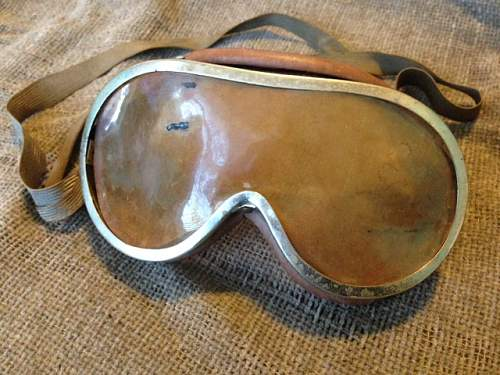 Japanese goggles?