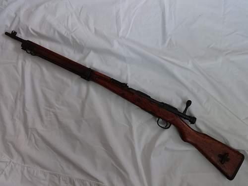 My new Type 99 Arisaka Rifle