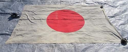 HUGE !!! japanese flag