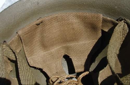 Cast Aluminum Civil Defense Helmet