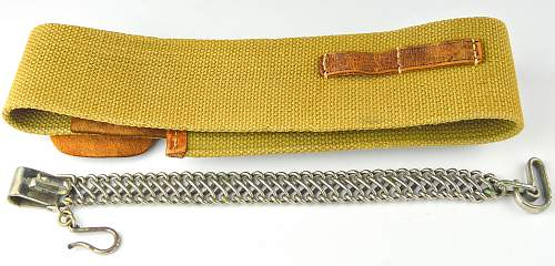 Japanese sword belts