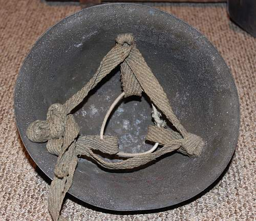 Cast Aluminum Civil Defense Helmet with Kanji