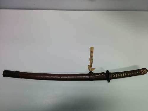 Identiyfing a sword