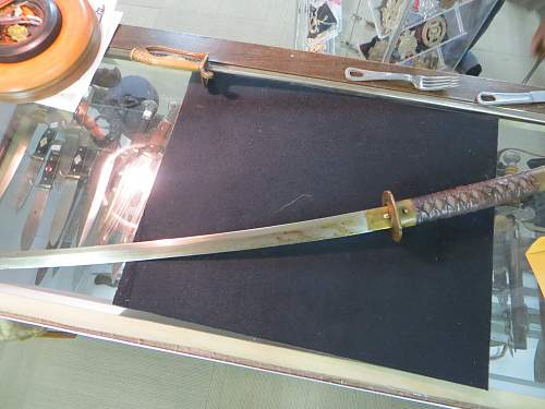 Another Japanese Sword WW2