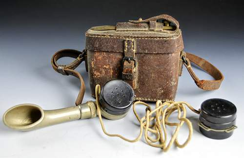 Unusual Field telephone