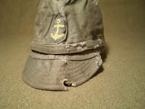 Japanese navy field cap: Authentic WW II?