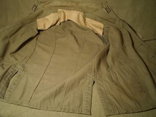 2 Japanese uniform jackets: Authentic WW II?
