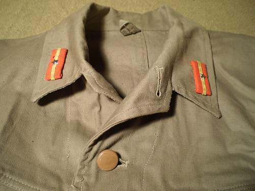 Another Japanese uniform jacket: Authentic WW II?