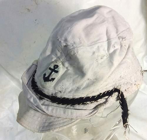 Japanese navy cap: Authentic WW II?