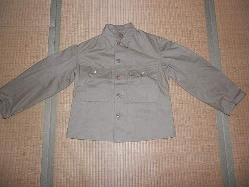 Japanese summer tunic: Authentic WW II?