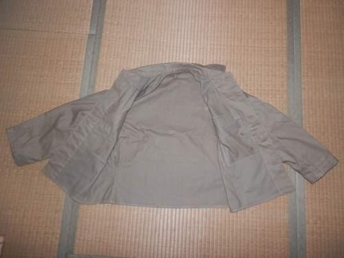 Japanese summer tunic: Authentic WW II?