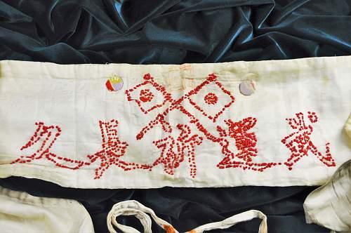 Twin Flags Senninbari