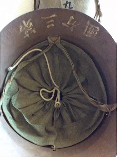 Japanese Kempeitai helmet?