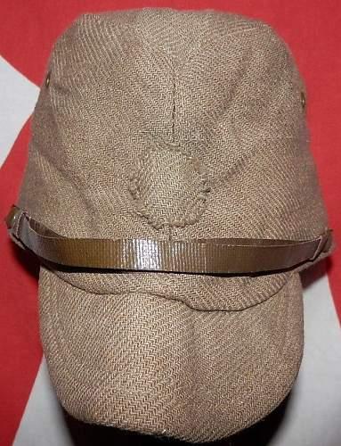 Japanese field cap: Authentic WW II?