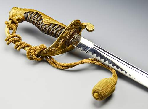Army Parade Sabre with family Mon