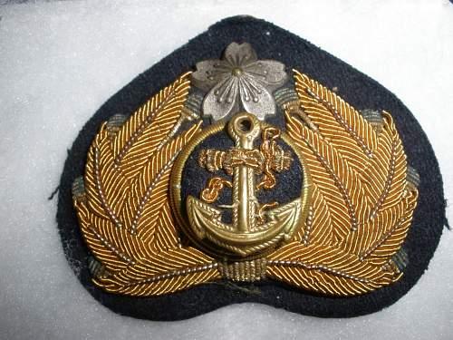 Japanese navy set up....buckle