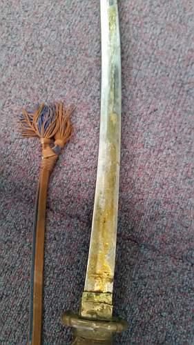 Original Japanese Officer Sword?