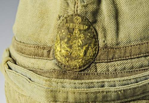 Field Modified Late War Naval Officers Cap