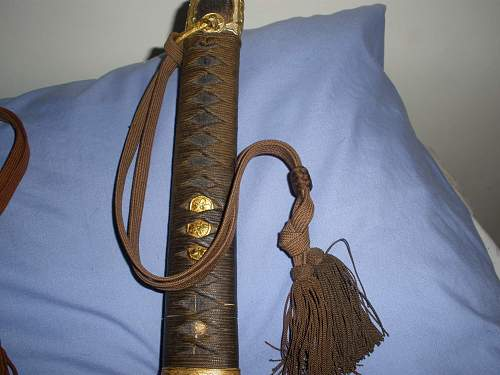 new japanese navy sword