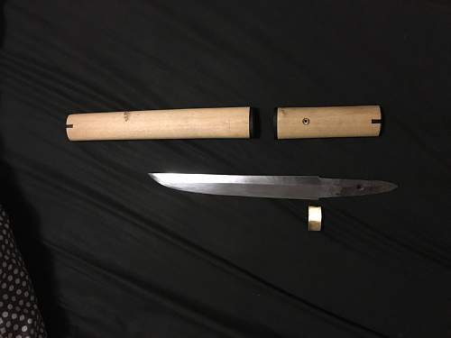 Genuine WW2 Japanese Tanto?