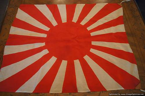 Japanese flags for review
