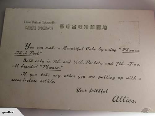 WW2 Propaganda cards?