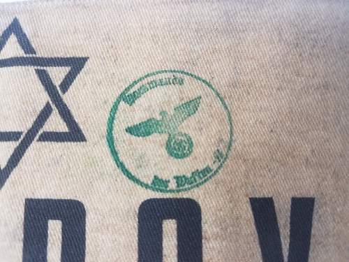 Jewish Arm Band: Opinions needed