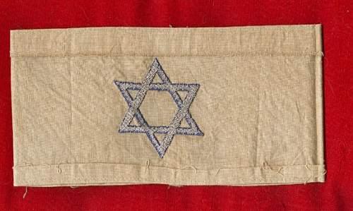 Warsaw Ghetto Armband