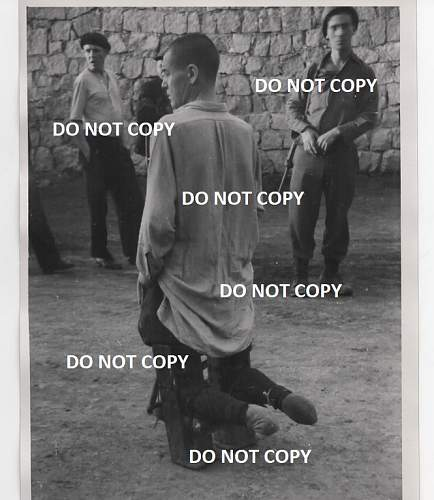 Crippled Mauthausen Prisoner Photograph