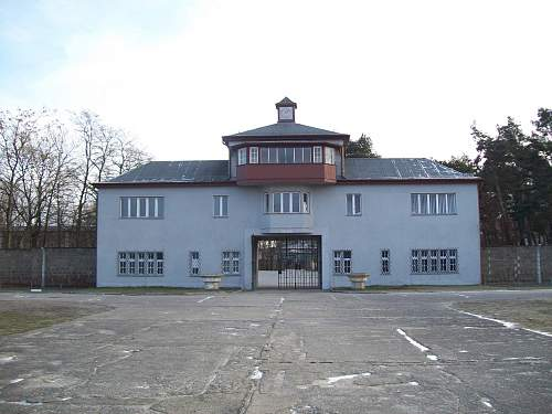 Sachsenhausen Concentration Camp..