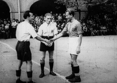 BBC article Theresienstadt Football matches and music.