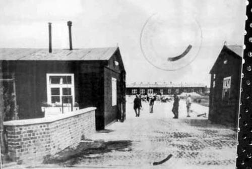 Neuengamme concentration camp, then and now