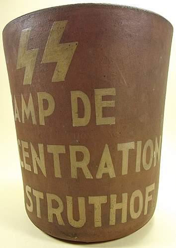 KZ Natzweiler-Struthof Ashes Urn