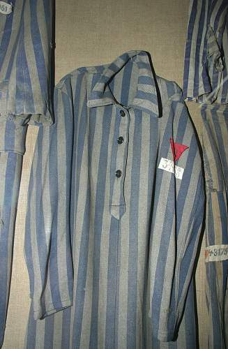 Concentration Camp Prisoner's Uniforms