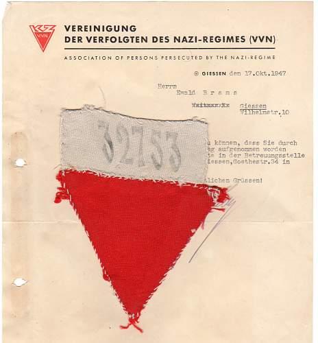 Concentration Camp Prisoner's Uniforms