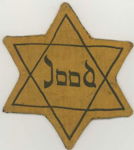 Star of David insignia