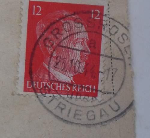 KZ, ZAL + Ghetto  postal control  markings