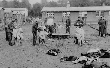 Post liberation Buchenwald photograph